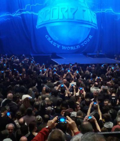 Scorpions en concert le 24 Mars  2018 Zenith d'Auvergne 20180310