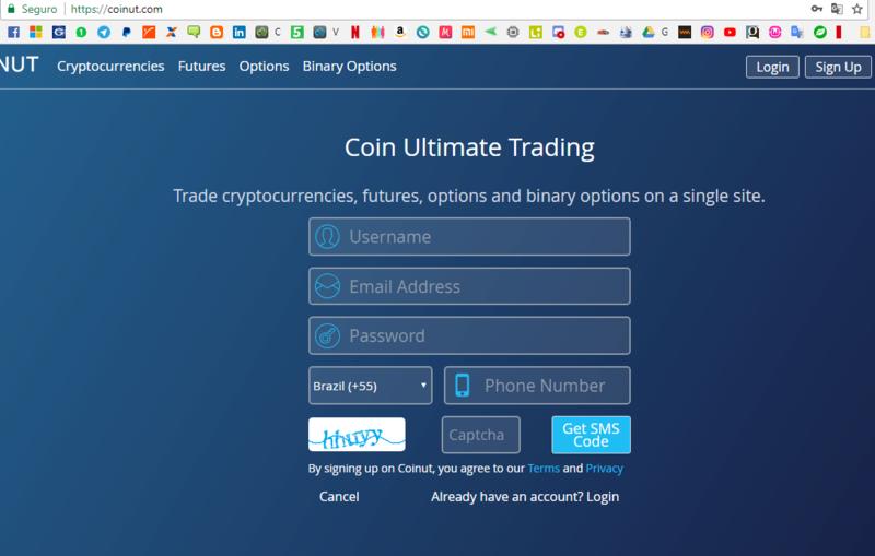 [Testar] Coinut - Exchange pagando 0,001 ltc no signup + 0,002 por convidados! Coinut11