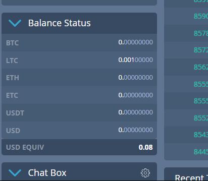 [Testar] Coinut - Exchange pagando 0,001 ltc no signup + 0,002 por convidados! Ltc_bo10