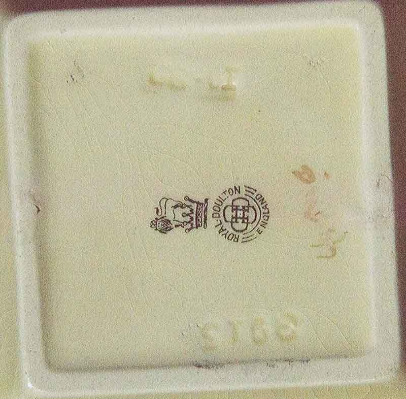 Unrecognisable Royal Doulton markings Rd1b10