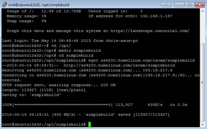 Script para Download/Atualização/Personalização do Oscam 110