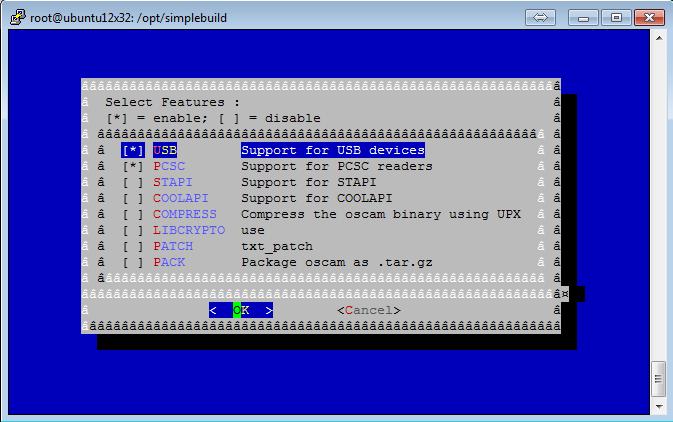Script para Download/Atualização/Personalização do Oscam 1310