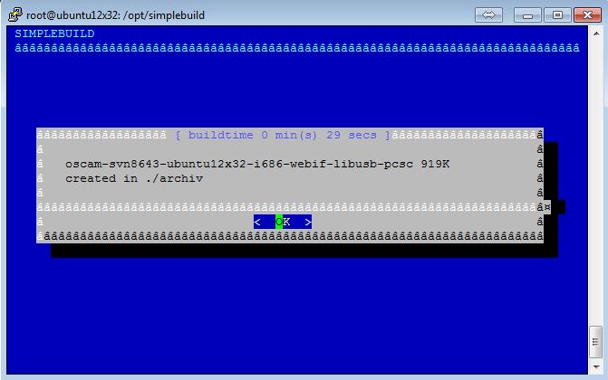 Script para Download/Atualização/Personalização do Oscam 1610