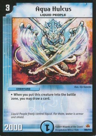 Top 10 Duel Masters Cards (TCG) Aqua_h10