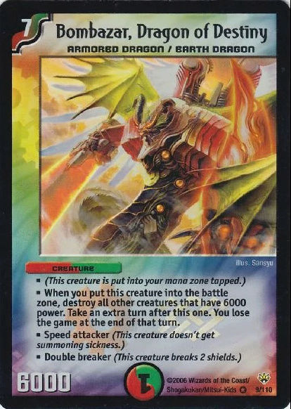 Top 10 Duel Masters Cards (TCG) Bombaz10
