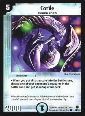 Top 10 Duel Masters Cards (TCG) Corile10