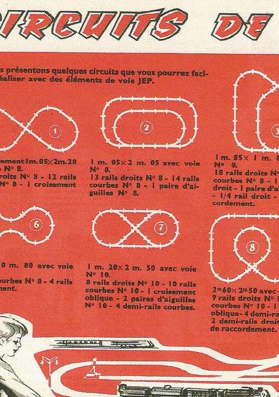 angles des croisements XOE obliques de JEP Circui11