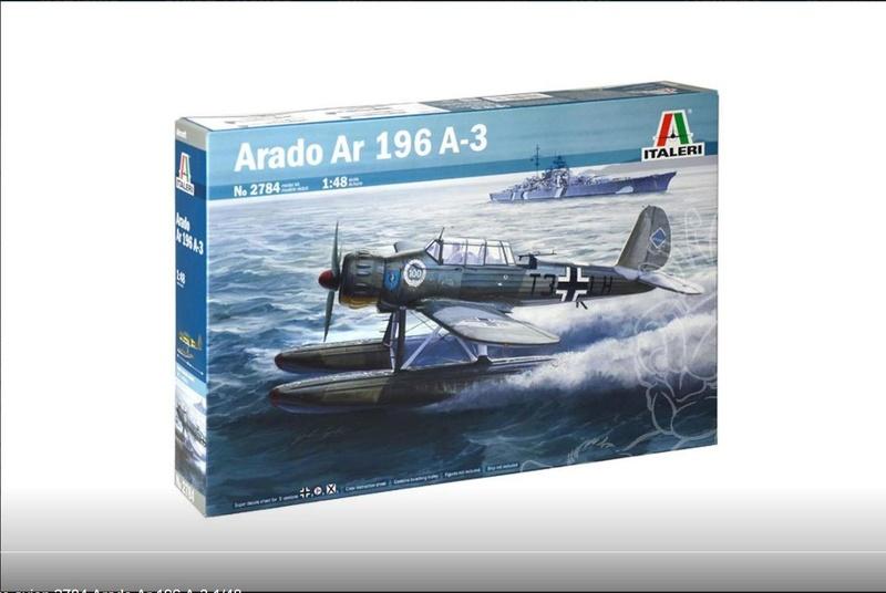 Arado AR196 Revell 1x72 110