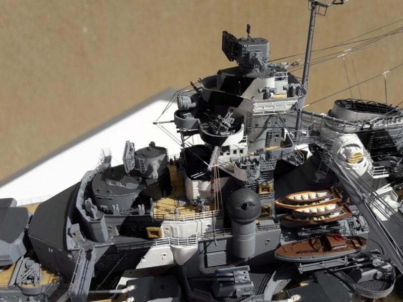 Bismarck 1/350 tamiya UP le 30/01/2018 montage terminé  - Page 2 Bismar17