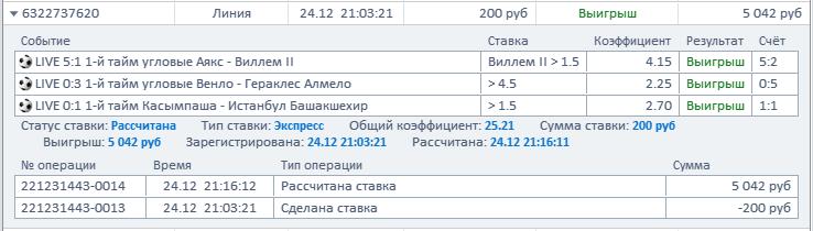 Удачные лайв ставки в БК Фонбет Yi_210