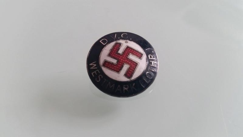 Badge D.V.G. WESTMARK LOTHR 20180511