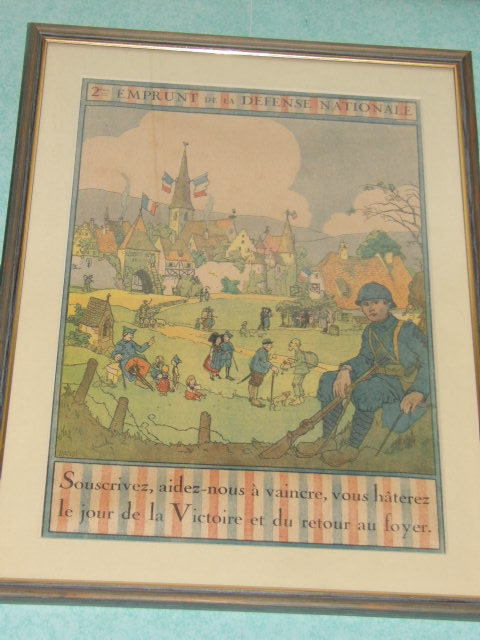 affiche emprunt de guerre 1914-1918 100_3427