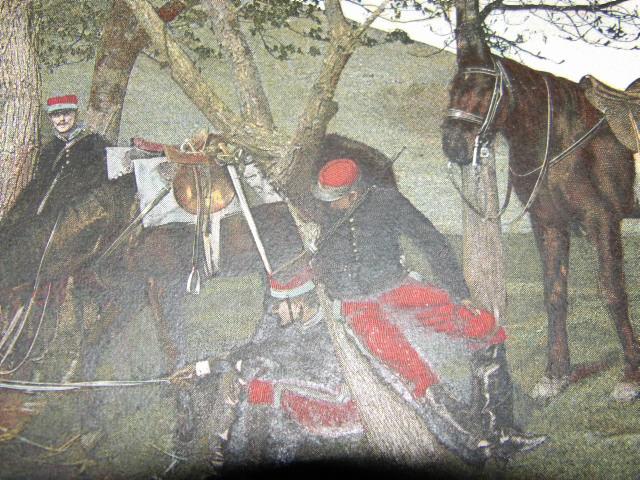 Képi cavalerie XIXeme 100_3546