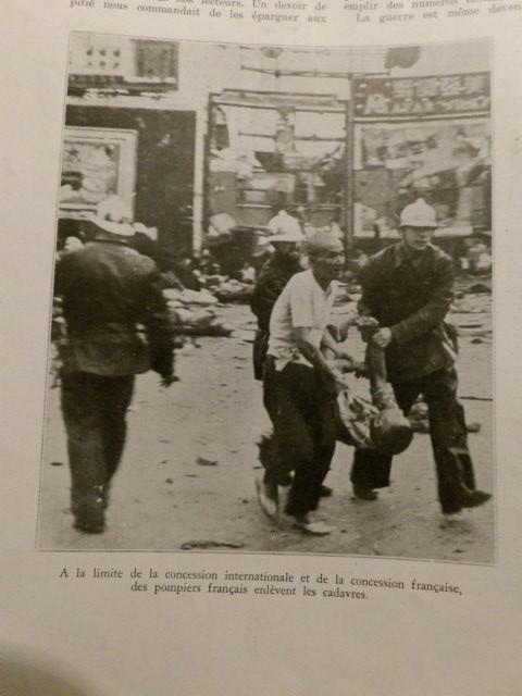 La médaille du bombardement de la concession française de Changhaï le 14 aout 19 100_3615