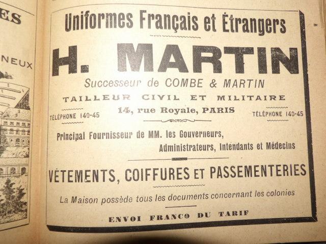 renseignements sur uniforme administrateur des colonies - Page 4 100_3716