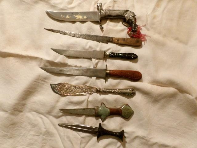 collectionneurs de couteaux modernes - LES FIXES 100_3911