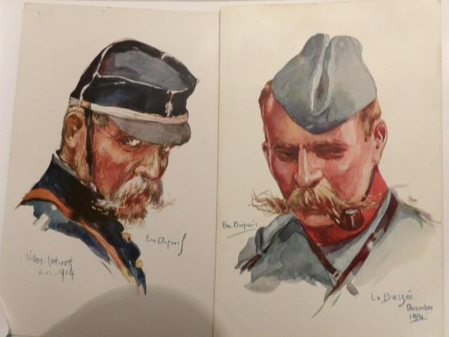 Deux portraits de militaire 100_3919
