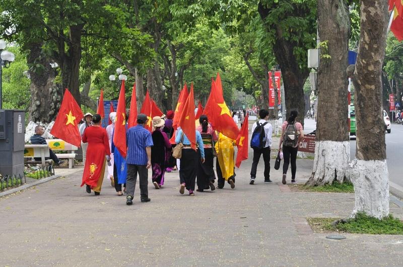 drapeau viet minh/ Indo à identifier Hanoi-10