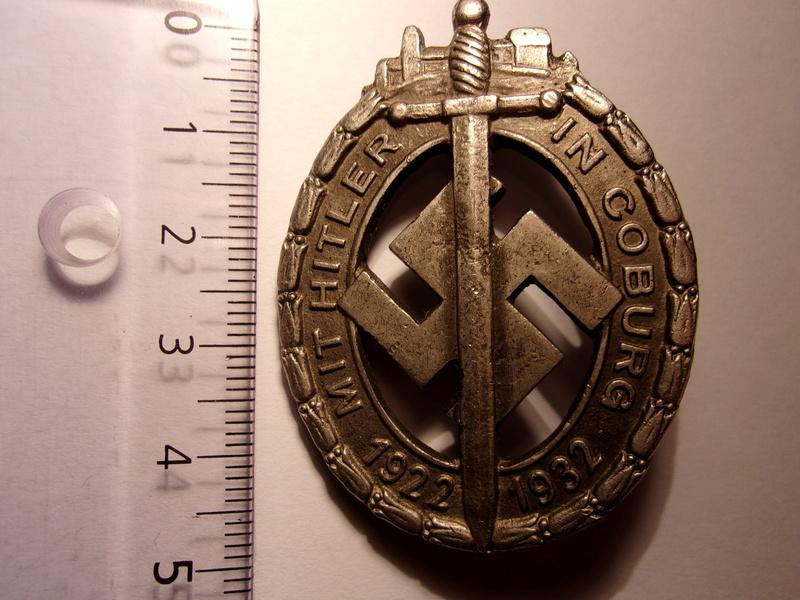 Badge/médaille Coburg 1932 103_1010