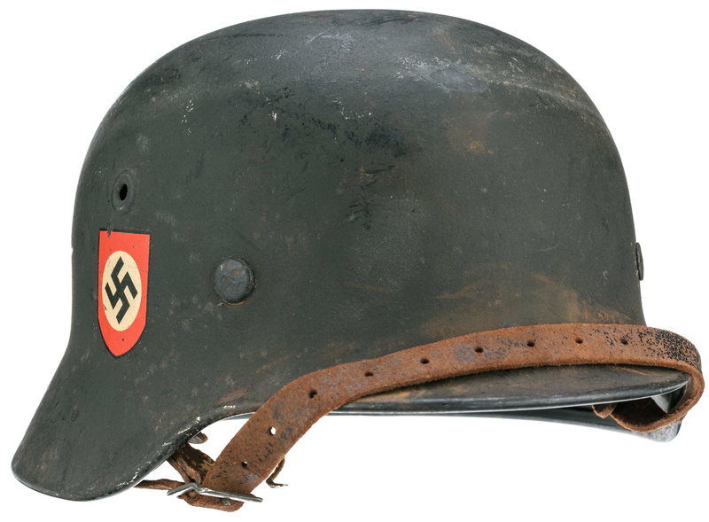 Authentification casque Polizei ww2 29715210
