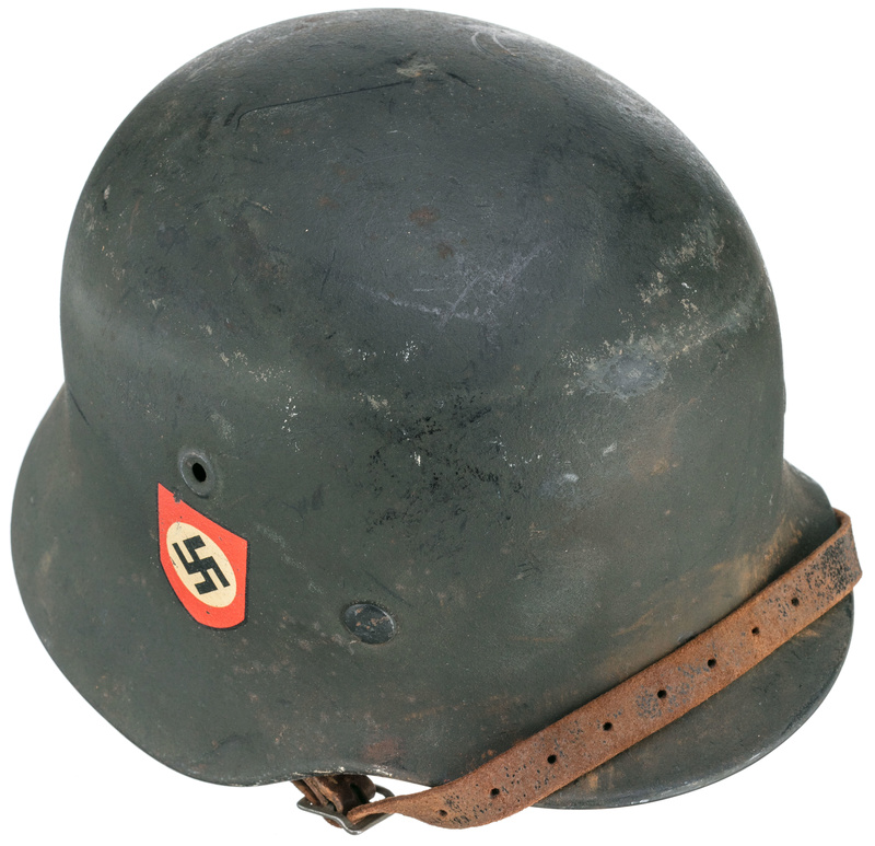 Authentification casque Polizei ww2 29715217