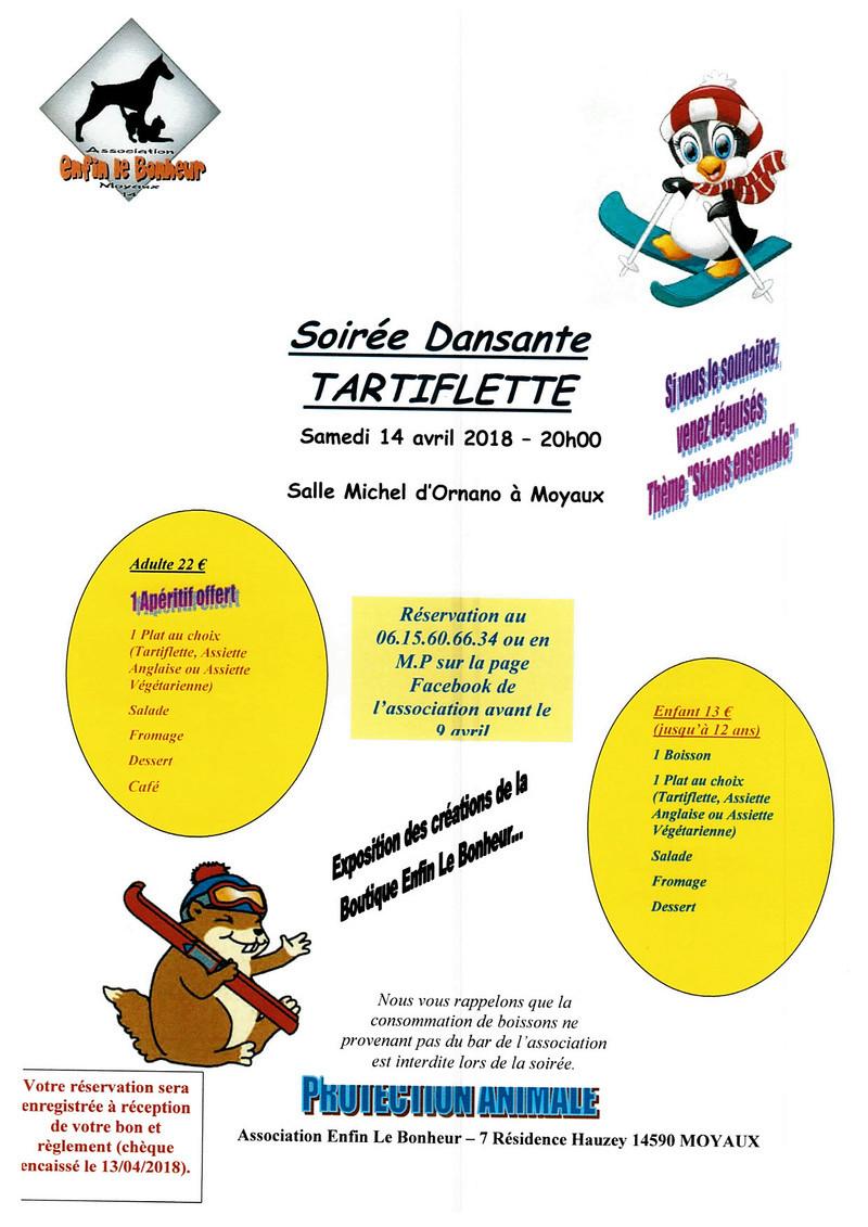 SOIREE TARTIFLETTE 14/04/2018 SALLE DES FETES DE MOYAUX Soiree11