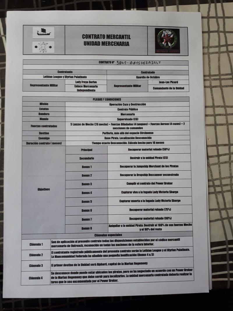 La Guardia de Oktubre - Recuperación de Mercancias Robadas 20171012