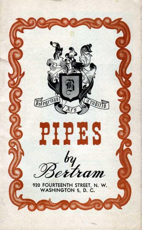 BERTRAM PIPE SHOP (SYDNEY BERTRAM GOLDMAN) Bertra12