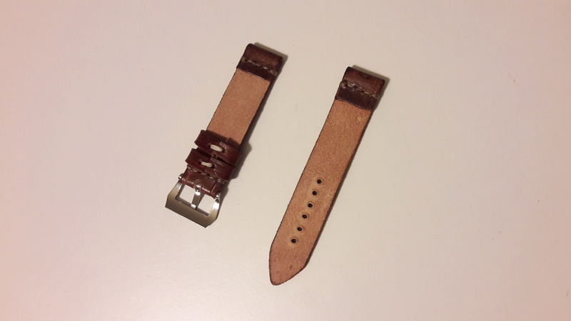 [Retirado] Bracelete artesanal em pele genuína 20171220