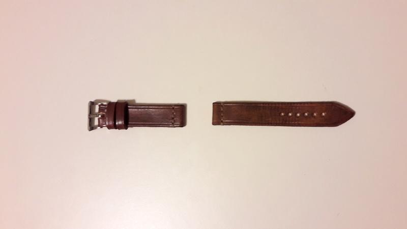[Retirado] Bracelete artesanal em pele genuína 20171221