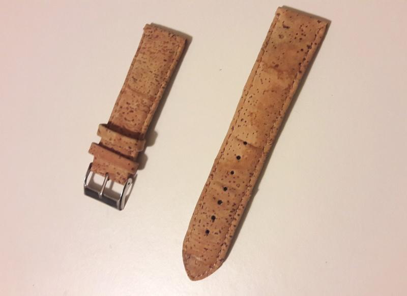 [Retirado] Bracelete cortiça 22 mm 20180238