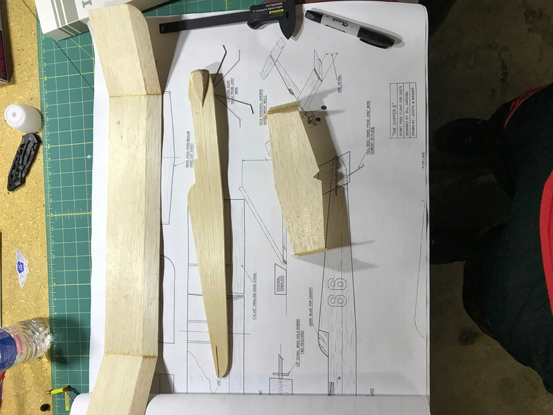 Balsa model finishing Img_0411