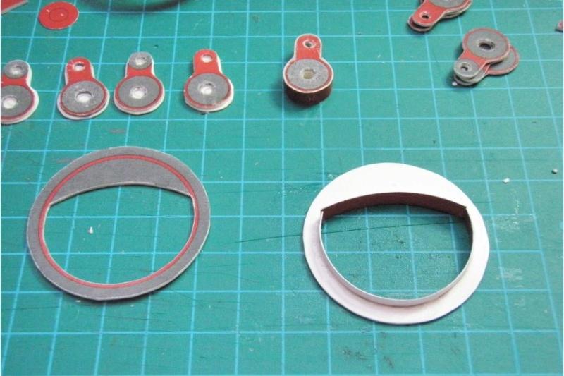 Kartonbauerstlingswerk T-3 von Modelik  1:25 003_0110