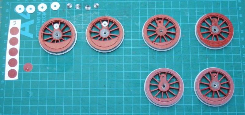 Kartonbauerstlingswerk T-3 von Modelik  1:25 004_fe10