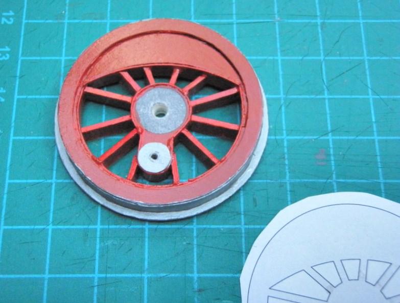 Kartonbauerstlingswerk T-3 von Modelik  1:25 005_tr10