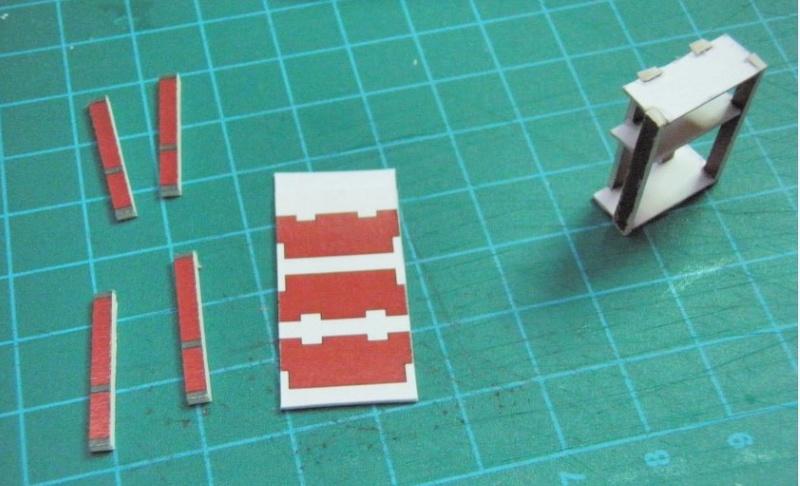 Kartonbauerstlingswerk T-3 von Modelik  1:25 008_au10