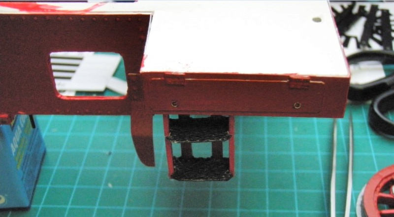 Kartonbauerstlingswerk T-3 von Modelik  1:25 009_au10