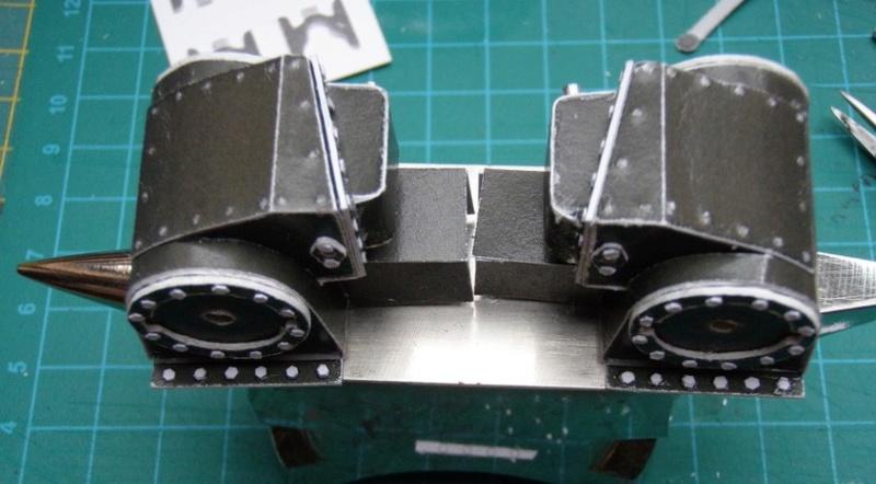 Kartonbauerstlingswerk T-3 von Modelik  1:25 012_zy10