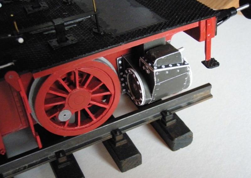 Kartonbauerstlingswerk T-3 von Modelik  1:25 013_zy10