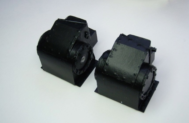 Kartonbauerstlingswerk T-3 von Modelik  1:25 014_zy10