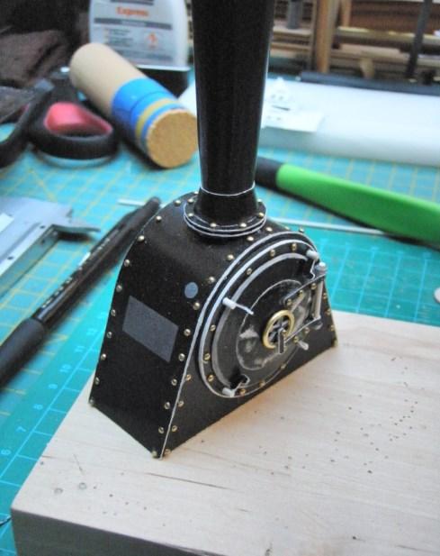 Kartonbauerstlingswerk T-3 von Modelik  1:25 016_ra10