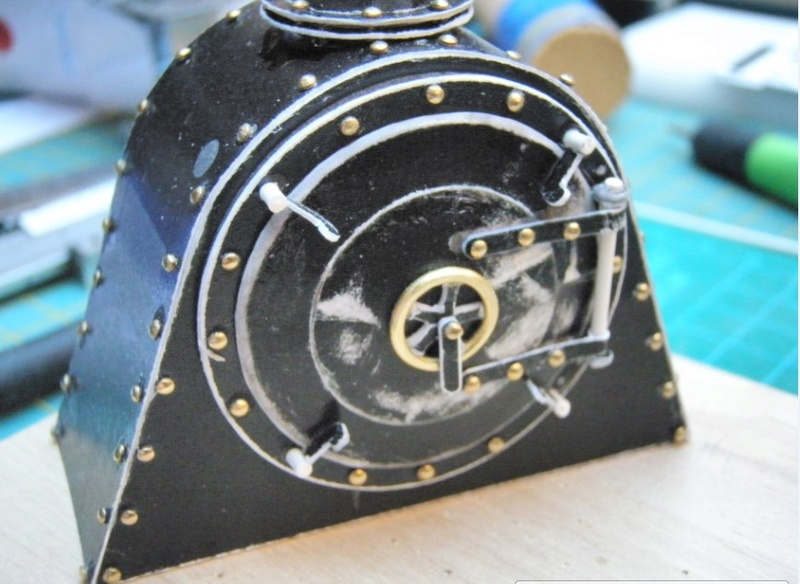 Kartonbauerstlingswerk T-3 von Modelik  1:25 017_ra10