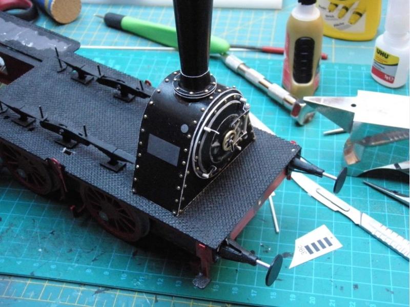 Kartonbauerstlingswerk T-3 von Modelik  1:25 019_ra11