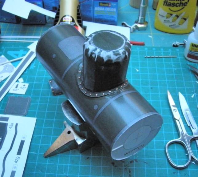 Kartonbauerstlingswerk T-3 von Modelik  1:25 021_ke10