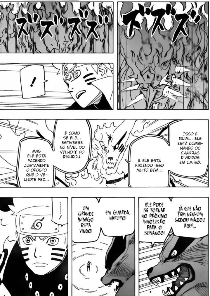 Sasuke Atual vs Madara EMS + Kurama Narut176