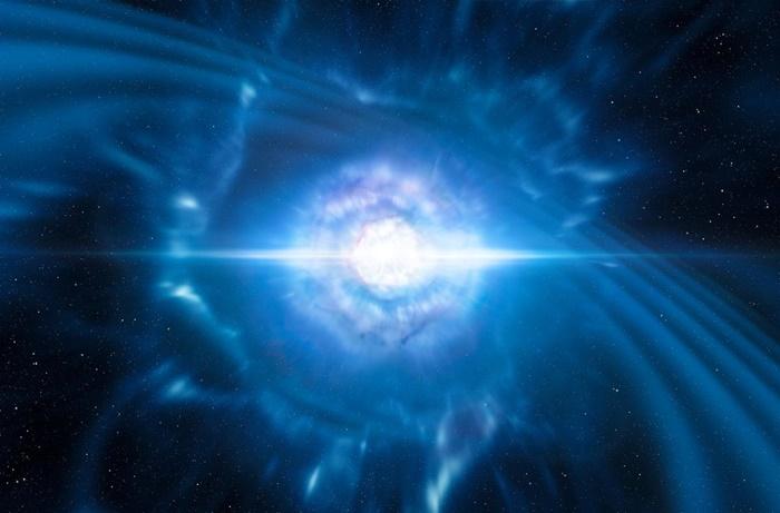 A primeira colisão de estrelas de neutrões vista da Terra Dn161011