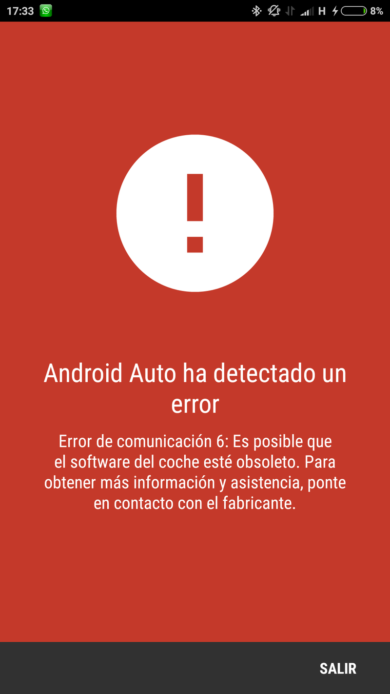 Problemas con Android Auto Screen10