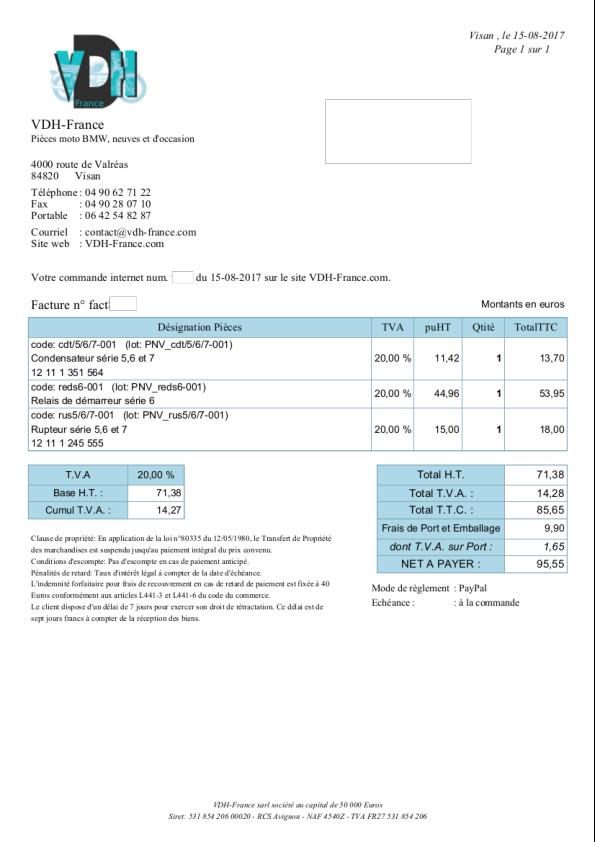problème démarrage R90/6 - Page 2 Relais10