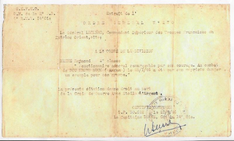 4 RMT 14 C Indochine MV2 3è section carnet de groupe extrait Perso10