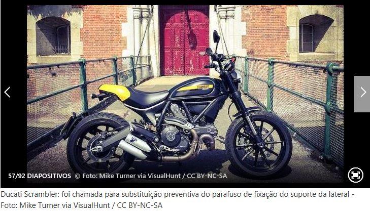 Recall de alguns modelos de mota Ducati10